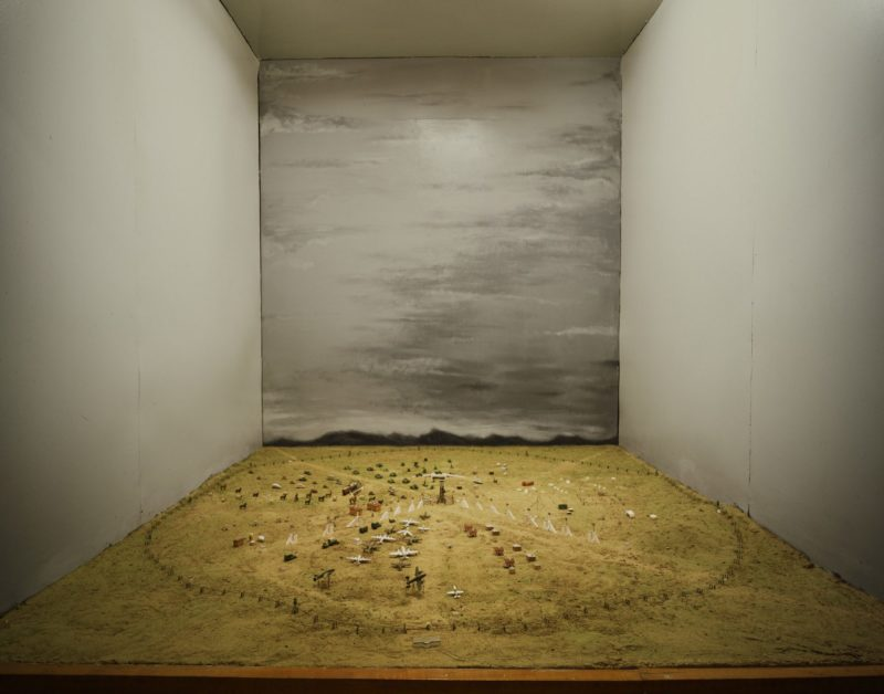 Nadav Kander - Diorama of The Polygon Test Site (before the event), Kurchatov, Kazakhstan, 2011