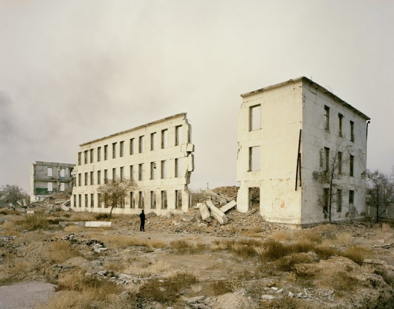 Nadav Kander - Priozersk I (military housing), Kazakhstan, 2011