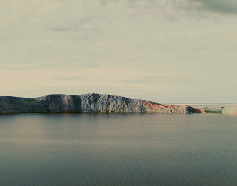 Nadav Kander - The Polygon Nuclear Test Site X, (Atomic Lake), Kazakhstan 2011