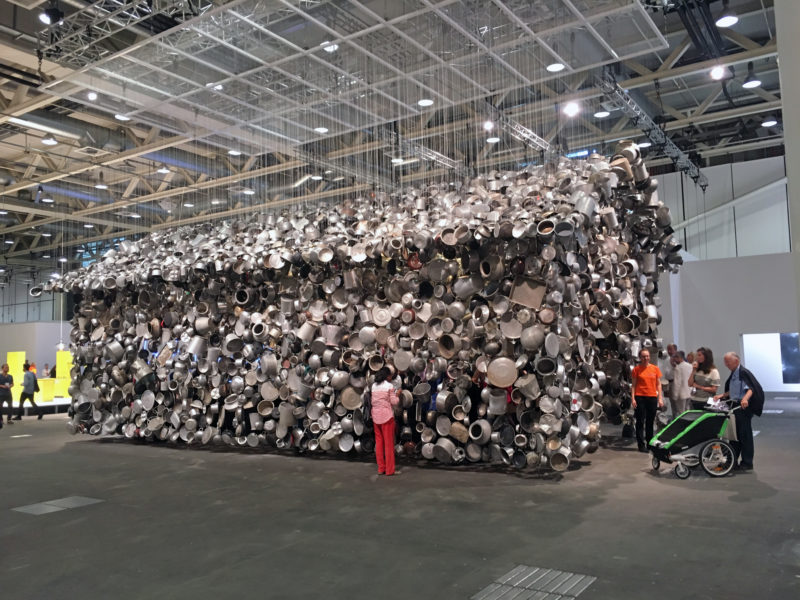 Subodh Gupta - Cooking the World, 2017