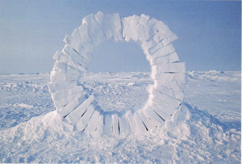 Andy Goldsworthy - Touching North, 1989, part 1 out of 4, North Pole