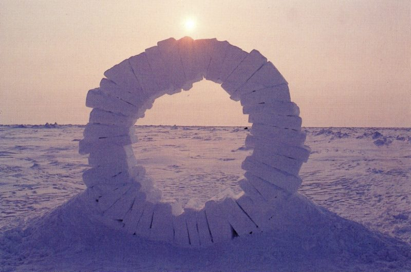 Andy Goldsworthy - Touching North, 1989, part 2 out of 4, North Pole