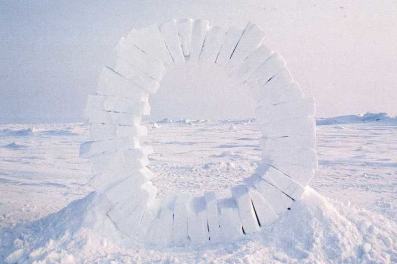 Andy Goldsworthy - Touching North, 1989, part 4 out of 4, North Pole