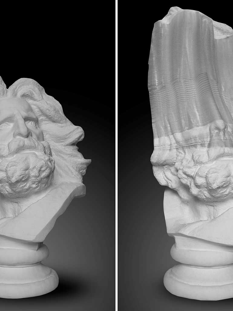 Li Hongbo's stunning flexible sculptures are not what they seem