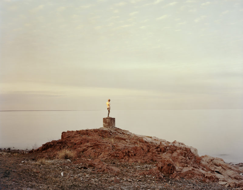 Nadav Kander - Priozersk XIV (I Was Told She Once Held An Oar), Kazakhstan 2011
