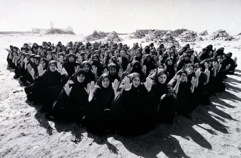 Shirin Neshat - Rapture, 1999 two-channel video:audio installation, 16mm film transferred to video