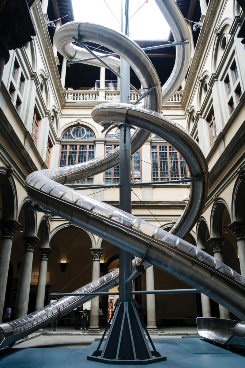 Carsten Höller - The Florence Experiment, 2018, Palazzo Strozzi, Florence