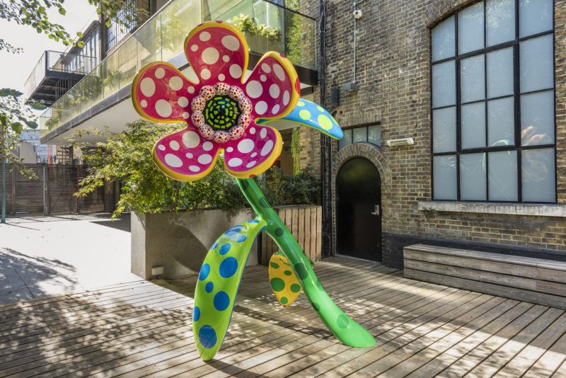Yayoi Kusama - Flowers that speak all about my heart given to the sky, 2018, Victoria Miro, London, 2018