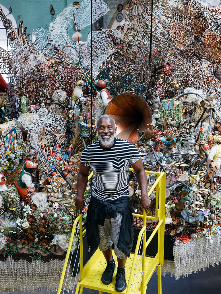 This was Nick Cave's ambitious exhibition Until