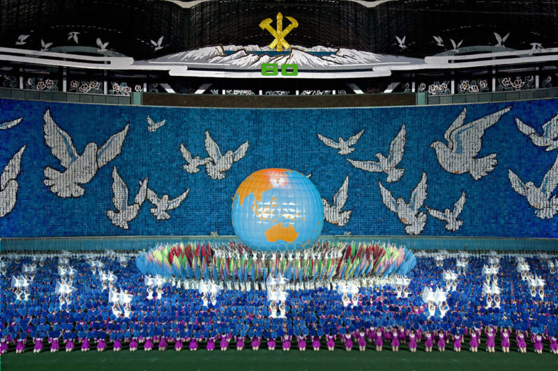 Philippe Chancel - Arirang, May Day Stadium, Pyongyang, North Korea, 2006
