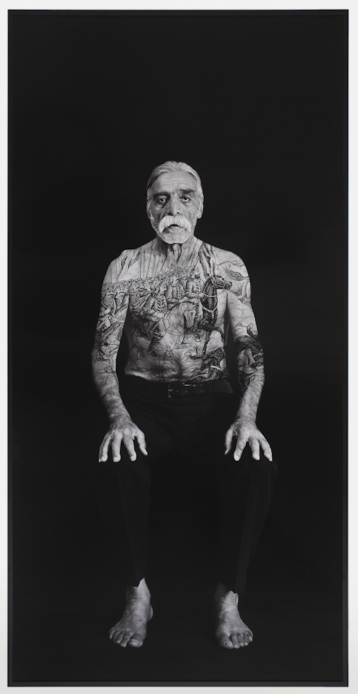 Shirin Neshat – Bahram (Villains), 2012, from Book of Kings