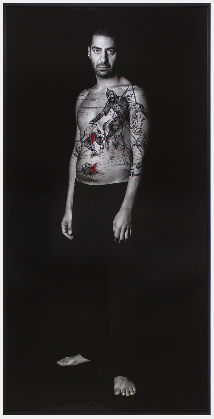 Shirin Neshat – Sherief (Villains), 2012, from Book of Kings