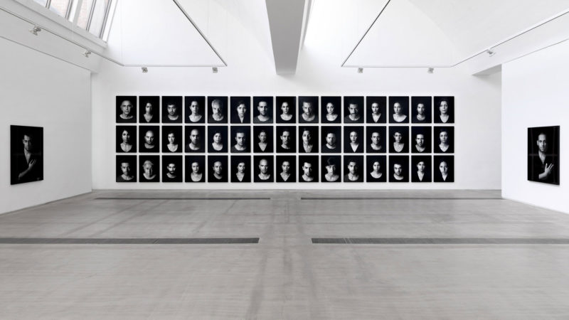 Shirin Neshat - Installation view of The Book of Kings at Faurschou Foundation Beijing. Photo by Jonathan Leijonhufvud 1