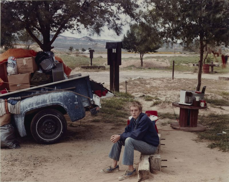 Joel Sternfeld - American Prospects, Red Rock State Campground (Boy), Gallup, New Mexico, September 1982