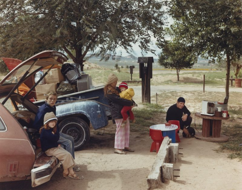 Joel Sternfeld - American Prospects, Red Rock State Campground, Gallup, New Mexico September 1982