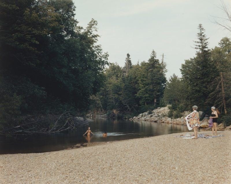Joel Sternfeld - American Prospects, Swift River, White Mountain National Forest, New Hampshire July 1980