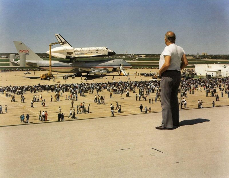 Joel Sternfeld - American Prospects, The Space Shuttle Columbia Lands at Kelly Air Force Base, San Antonio, Texas, March 1979