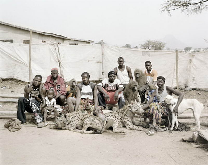 Pieter Hugo - The Hyena Men of Abuja, Nigeria 2005, II