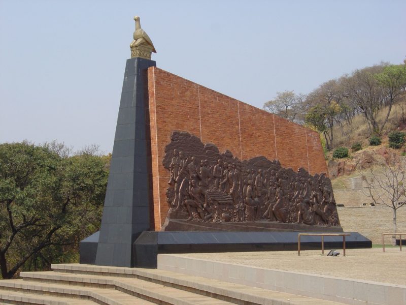 The Mansudae Overseas Project - Zimbabwe - National Heroes Acre, By Gary Bembridge (Flickr- Heroes Acre, Harare, Zimbabwe) [CC BY 2.0], via Wikimedia Commons 2