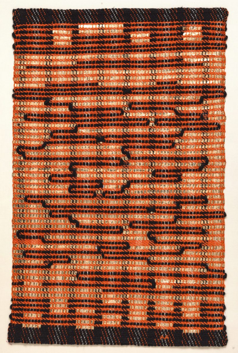 Anni Albers - From the East, 1963, Cotton and plastic, 63.5 x 41.4 cm