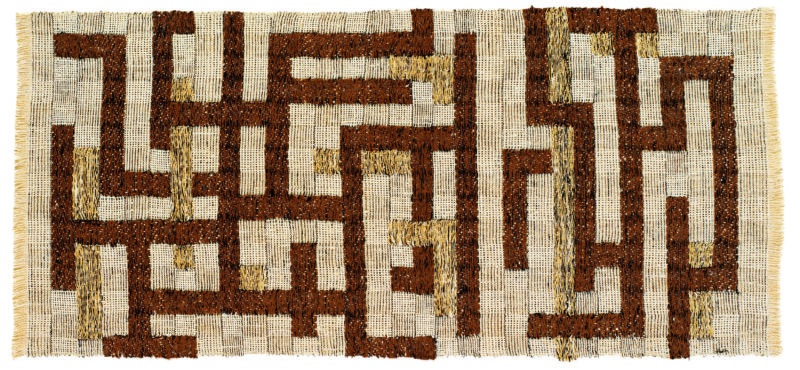 Anni Albers - Two, 1952, linen, cotton, and rayon