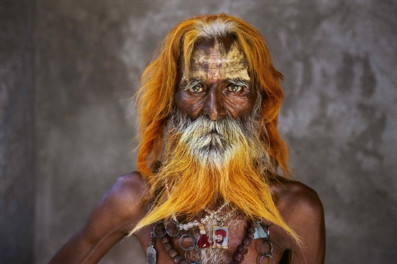 Steve McCurry - An elderly man from the Rabari Tribe, Rajasthan, India, 2010
