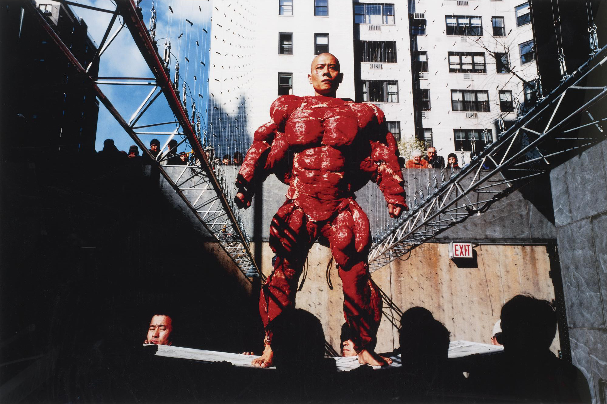 Image result for zhang huan meat suit