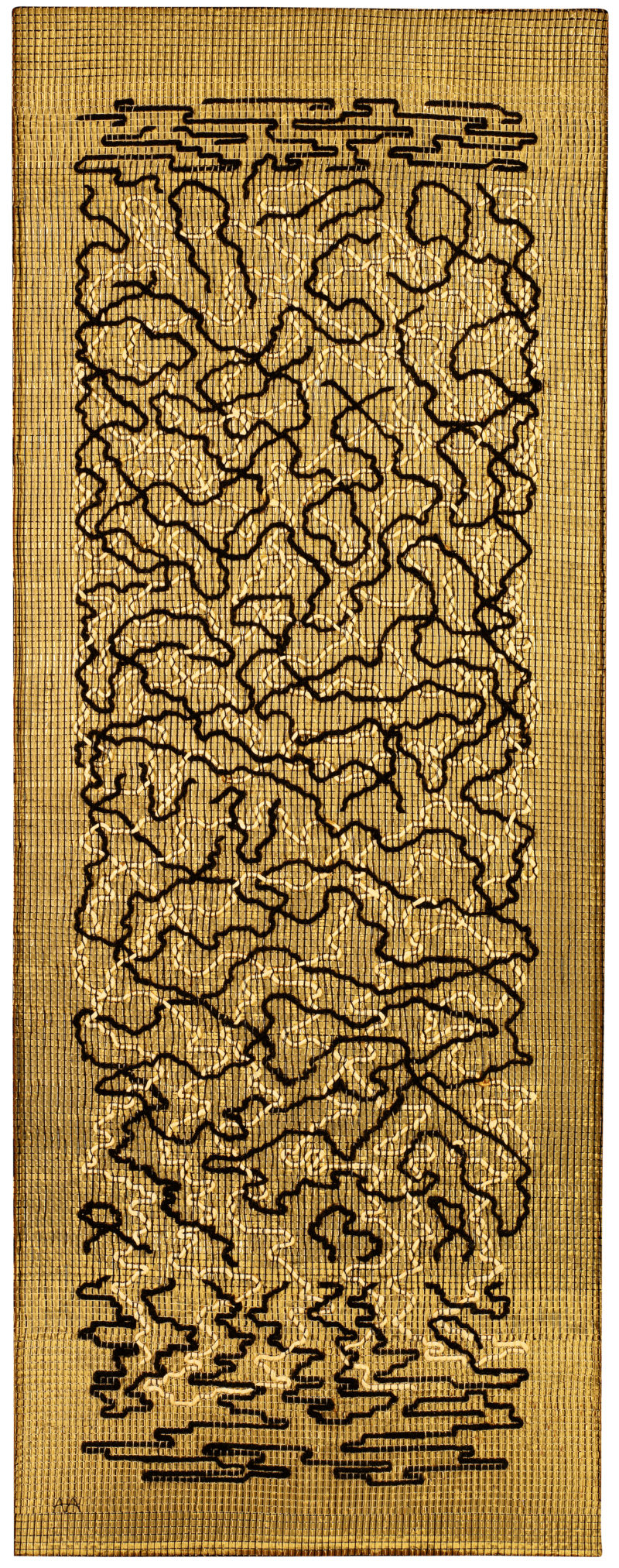 Anni Albers - Epitaph, 1968, pictorial weaving, 149,8 x 58,4 cm