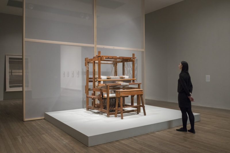 Anni Albers installation view at the Tate Modern, 2018-2019