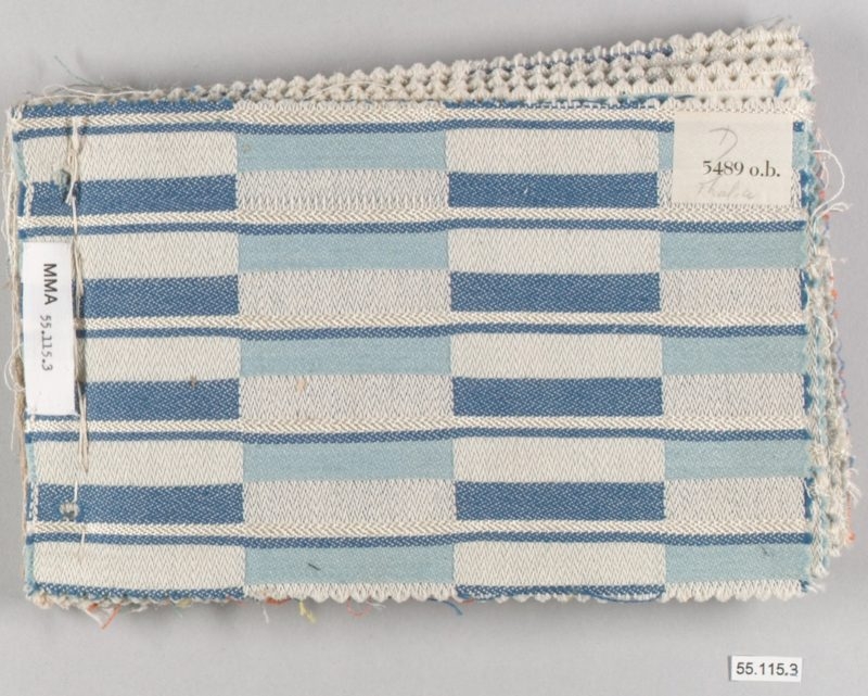 Otti Berger - Book, ca. 1935, Cotton, 14 x 22.9 cm. (5-1/2 x 9 in.)