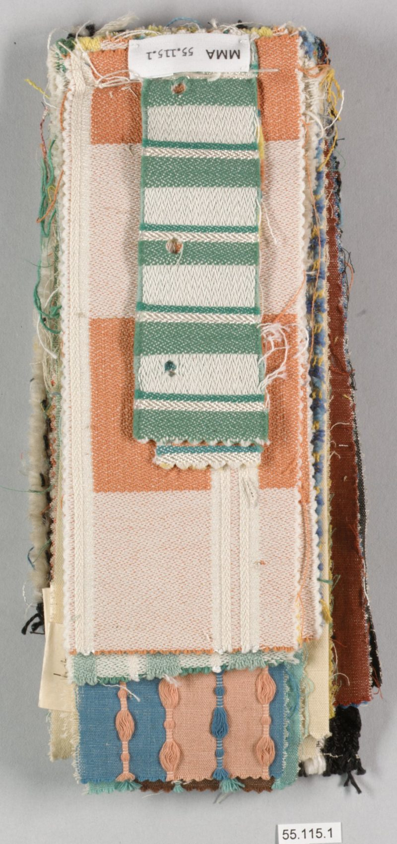 Otti Berger - Book, mid 1930s, cotton, 9.5 x 24.1cm (3 3/4 x 9 1/2 in.)