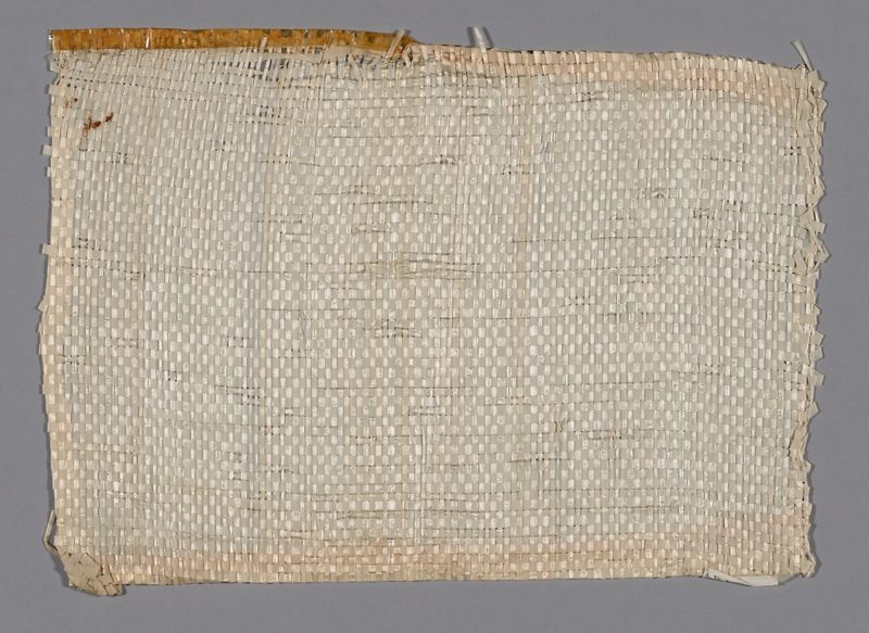 Otti Berger - Sample (Furnishing Fabric), 1919–1933, Cellophane, plain weave, 35.5 x 45.8 cm (14 x 18 in.), artic.edu