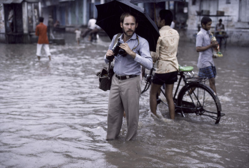Steve McCurry - Portrait - Monsoon in India