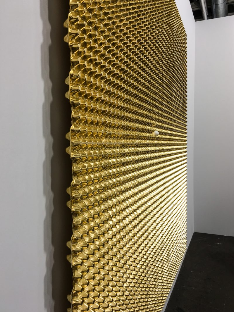 He Xiangyu – Untitled, 2018 (detail), Art Basel Unlimited 2018