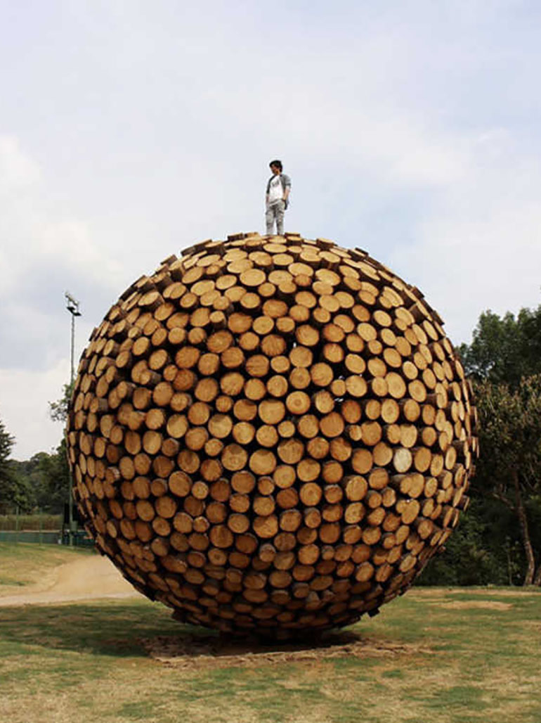 Jaehyo Lee (이재효) & his massive organic sculptures - Our top 10