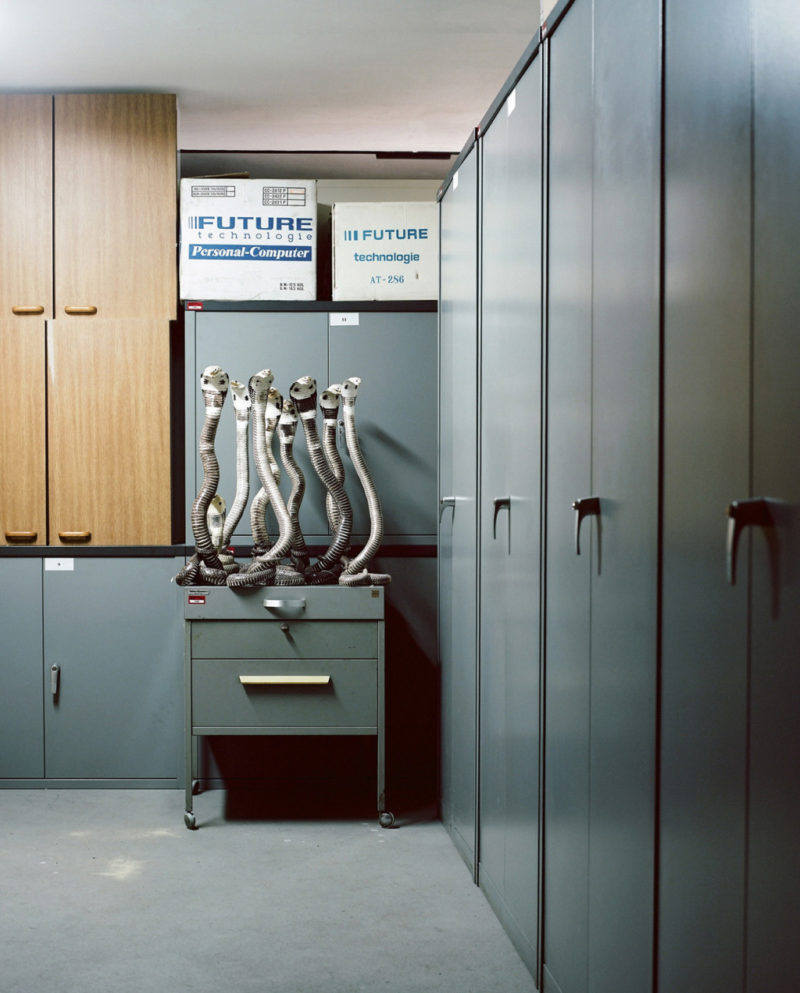 Klaus Pichler - Cobras at the Museum of Natural History, Vienna, 2010, from Skeletons in the Closet