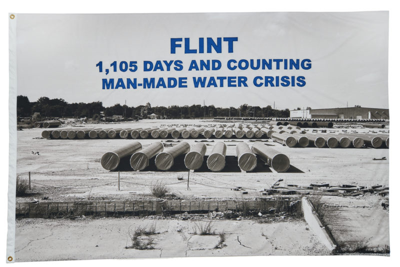 LaToya Ruby Frazier - FLINT, 1,105 Days and Counting Man-Made Water Crisis, 2017