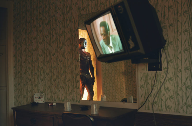 Philip-Lorca diCorcia - Gerald Hughes (a.k.a. Savage Fantasy), about 25 years old; Southern California; $50