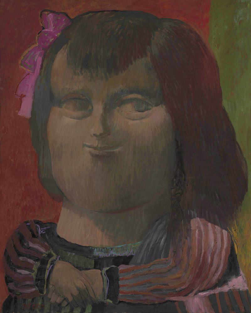 Fernando Botero - Mona Lisa, 1959, oil on canvas, 163.8 x 130.8 cm (64 ½ x 51 ½ in.)
