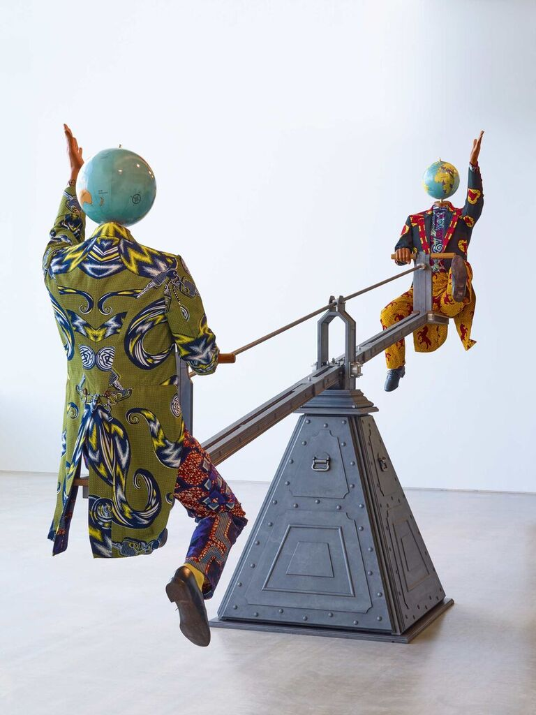 Yinka Shonibare - End of Empire, 2016, Turner Contemporary, photo Stephen White 5