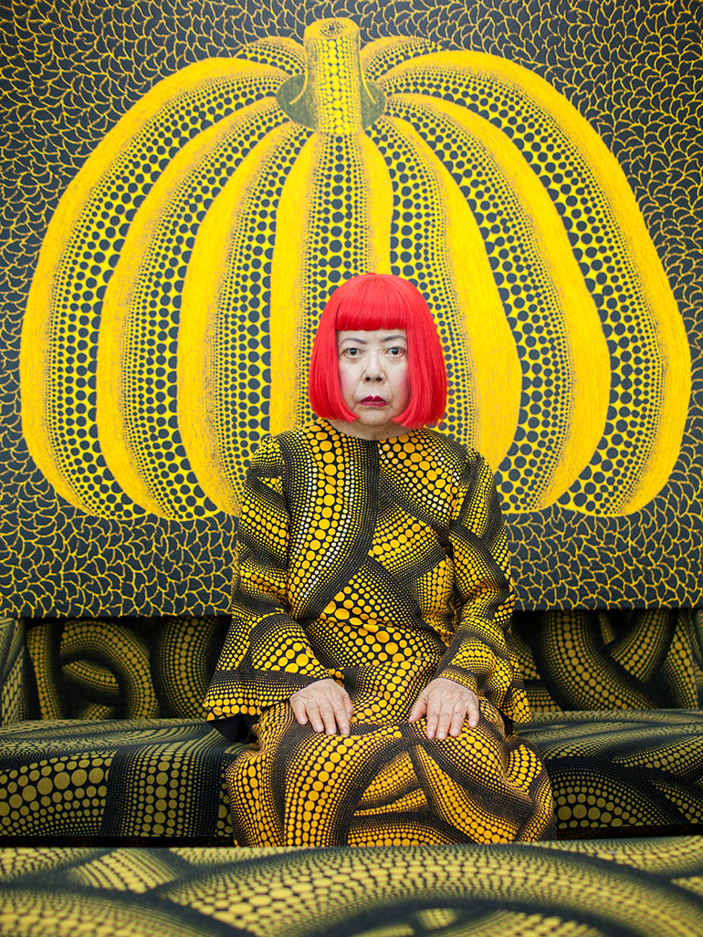 Why is Yayoi Kusama obsessed with Pumpkins?