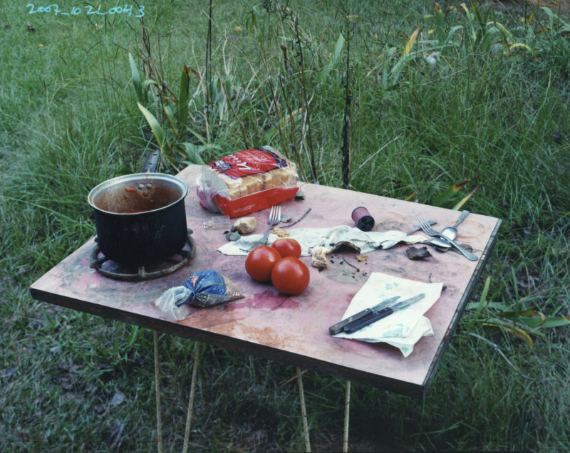 Alec Soth - Broken Manual, Somewhere to disappear, Sidney's Tomatoes, Nubbin Creek, Alabama