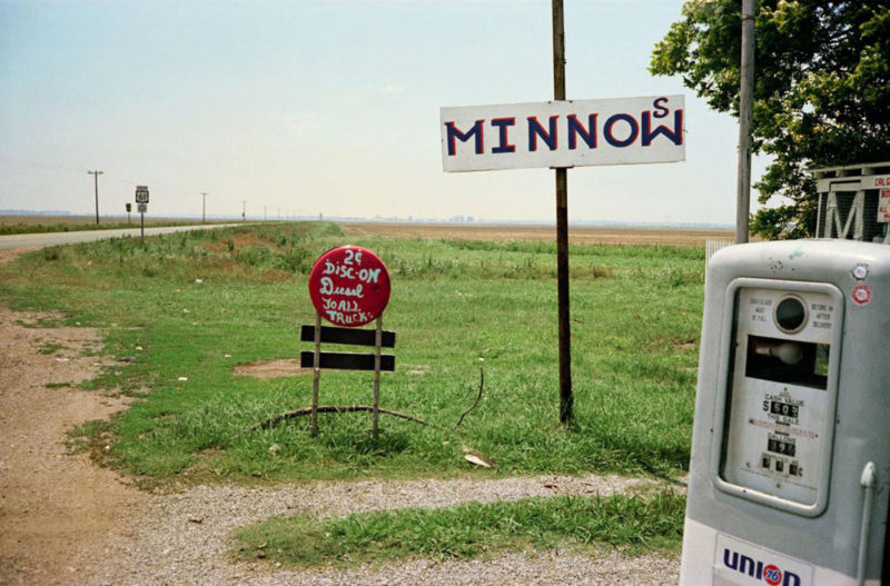 William Eggleston - Untitled (Minnow sign), 1971-1974, from Los Alamos