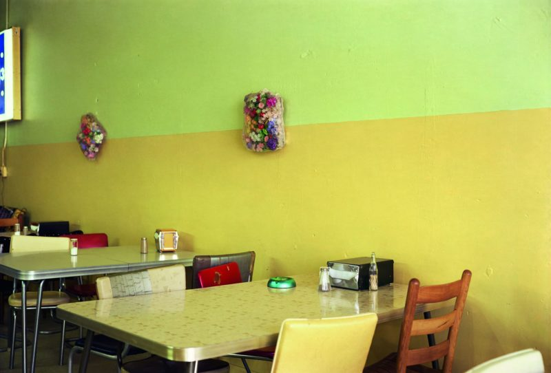William Eggleston - Untitled (yellow cafe), 1976, from Election Eve