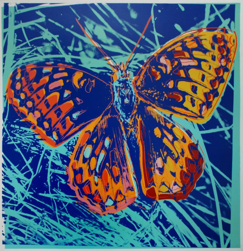 Andy Warhol - San Francisco Silverspot, 1983, screenprint, 96,5 x 96,2 cm (38 x 37 7/8 in.)