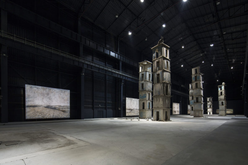 Anselm Kiefer - Installation view of the exhibition The Seven Heavenly Palaces 2004-2015, Pirelli HangarBicocca, Milan, Italy, 2015