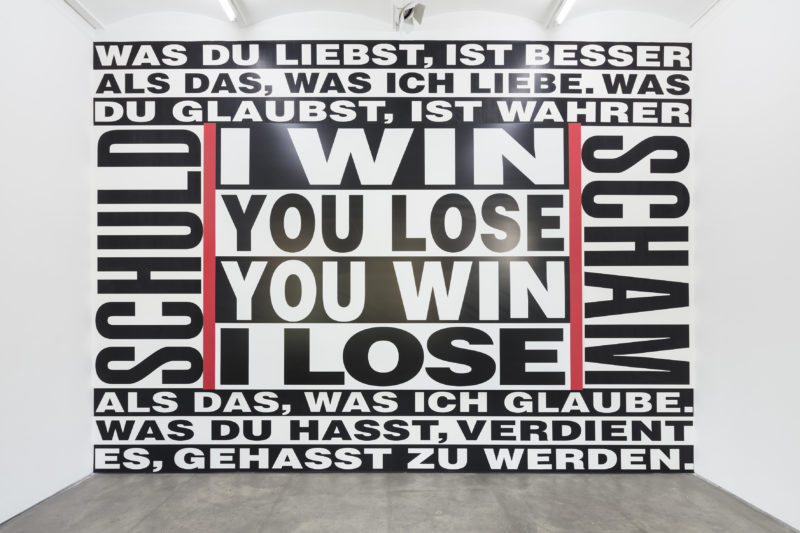 Barbara Kruger at Sprüth Magers, 2017
