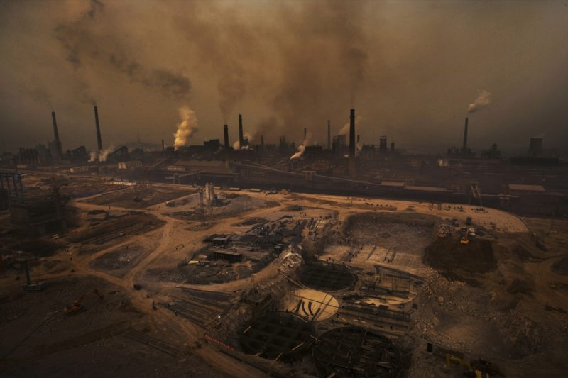 Lu Guang - The Tianjin Steel Plant, She County, Hebei Province, China, March 18, 2008