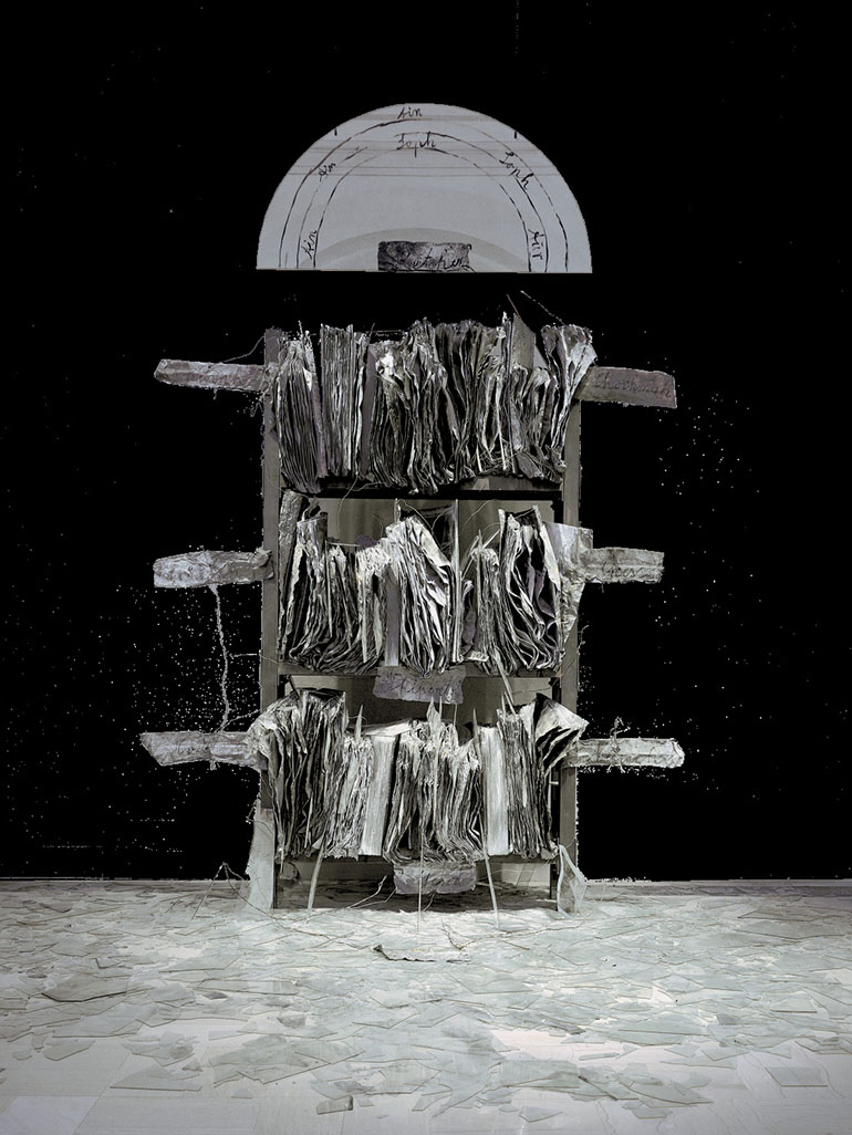 Anselm Kiefer - Breaking of the Vessels (Bruch der Gefäße), 1990, Saint Louis Art Museum