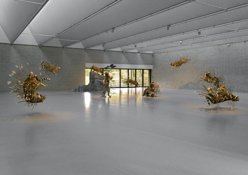 Cai Gao-Qiang - Inopportune- Stage two, 2004, Kröller-Müller Museum, Otterlo